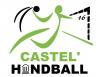 Logo officiel du Castel'handball 16