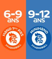 Frise handball enfants